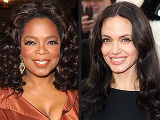 Oprah Winfrey, Angelina Jolie Top Showbiz Power List