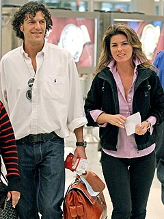 Shania Twain Enjoys Time with Pal Frédéric Thiébaud