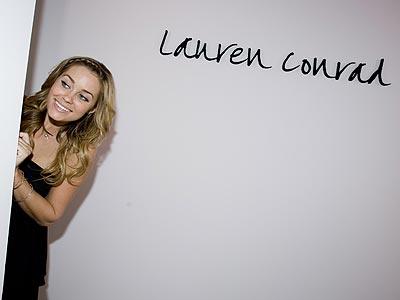 Lauren Conrad Shows at L.A. FashionWeek