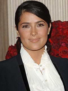 Costar Finds Salma Hayek's Baby 'Outgoing, Colorful'