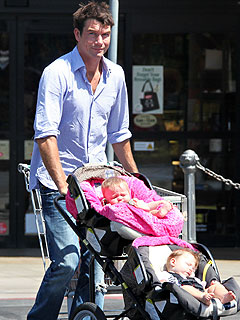 Jerry O'Connell Can't Stop His Baby Girls from Giggling