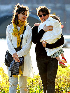 Katie Holmes and Suri Have a Spanish Zoo All to Themselves