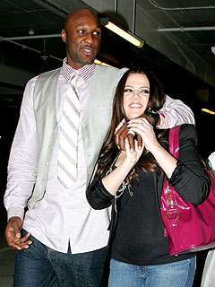 Khloe Celebrates the Lakers Victory with Lamar