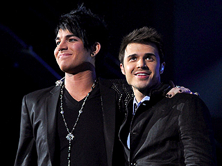 Kris Allen & Adam Lambert React to Idol Shocker