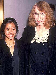 Mia Farrow daughter lark previn