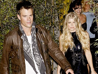 Fergie and Josh Kick Off Their Wedding Week