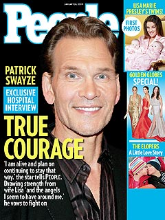 COVER SNEAK PEEK: Patrick Swayze Vows to Fight On