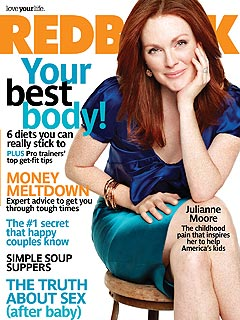 Julianne Moore Dishes About Marriage and Dieting