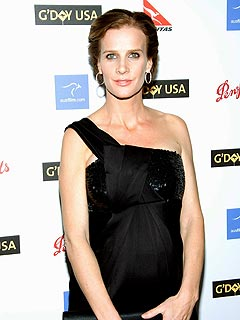 Rachel Griffiths Reveals Her Due Date