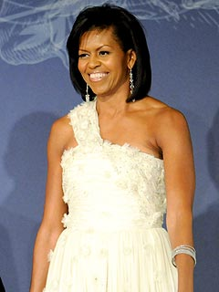 Michelle Obama's Gown Is Headed for the Smithsonian