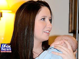 Bristol Palin's Baby Proves a Handful for Young Parents