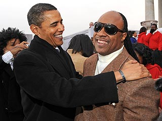 The Obamas' Secret to Love? Stevie Wonder
