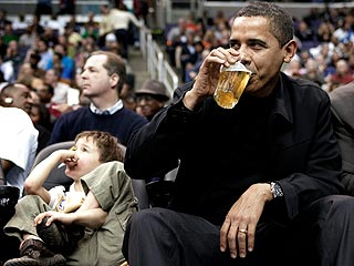 President Obama's Boys' Night Out