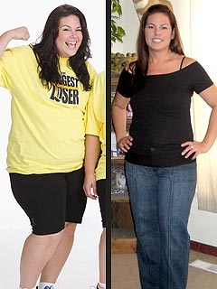 Biggest Loser's Mandy Before & After Losing 90Lbs.