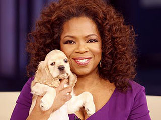 Oprah: My Sick Pup Sadie Is Hanging In There