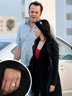 Check Out Vince Vaughn's Fiancée Wearing Her New Ring