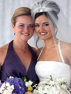 Danica McKellar's Sister Calls Wedding 'Magical'