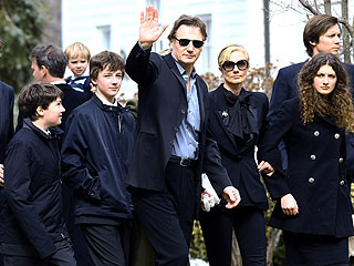 Liam Neeson & Sons Trying to Return to Normal Life