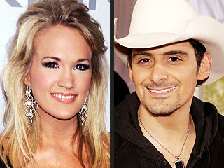 Carrie Underwood, Brad Paisley Vie for Top Prize at the ACMs