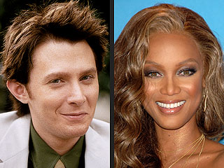Clay Aiken Joins BFF Tyra Banks on Top Model