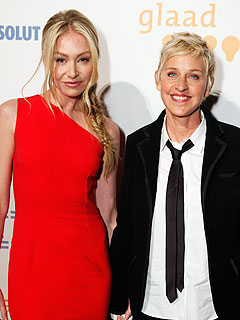 Ellen DeGeneres, Portia De Rossi GLAAD to Be in Love