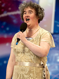 YouTube Sensation Susan Boyle Hits the U.S.