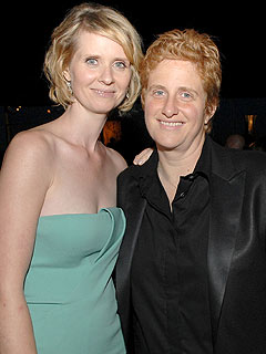 Cynthia Nixon Announces Engagement to Girlfriend