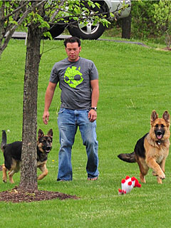 Jon Gosselin's Two Pups Are 'Loyal Creatures'