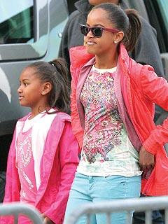 Birthday Girl Sasha Obama Takes in London's Lion King