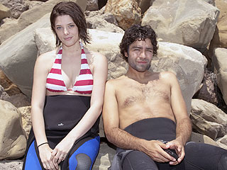 Ashley Greene and Adrian Grenier Get Cozy