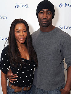 Golden Brooks with cool, Boyfriend D.B. Woodside