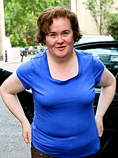 Susan Boyle Comes Home to Find an Intruder