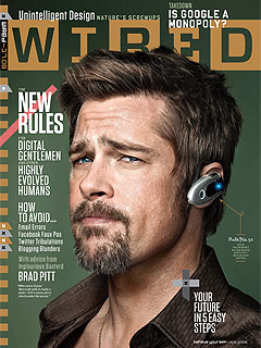 FIRST LOOK: Brad Pitt on the Cover of Wired