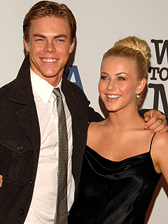Julianne & Derek Hough Celebrate Joint Emmy Nomination