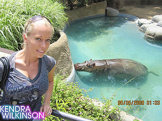 PHOTO: Kendra and Hank's Trip to the Los Angeles Zoo