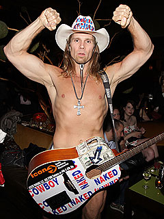 Naked Cowboy Launches Full-Frontal Campaign