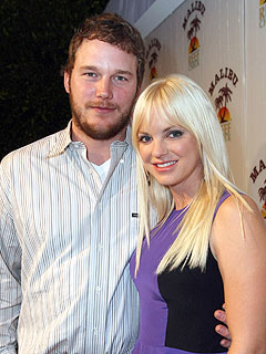 Anna Faris and husband