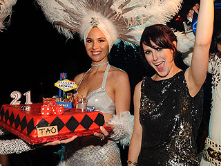 Rumer Willis Turns 21 in Las Vegas