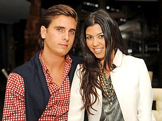 Kourtney Kardashian's Boyfriend Has A 'Man Shower'