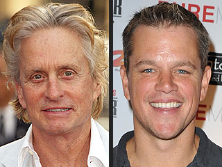 Matt Damon on Kissing Michael Douglas