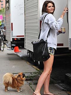 Mischa Barton Sweet on the Big Apple