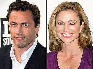 Engaged: Andrew Shue and Today's Amy Robach!