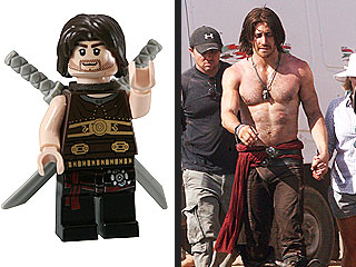 Jake Gyllenhaal's Hard Body Captured in Lego Form