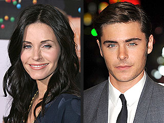 QUOTED: Courteney Cox Picks Zac Efron for Cougar Prey