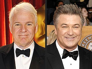 Alec Baldwin: Oscar-Hosting Pressure on Steve Martin