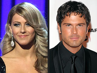 Julianne Hough and Chuck Wicks Attend CMAs Together!
