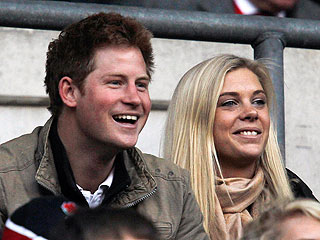 Prince Harry and Chelsy Davy: Out in Public