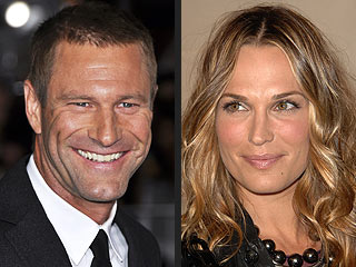Aaron Eckhart couple