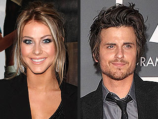 Julianne Hough Gets Cozy with Kings of Leon Bassist