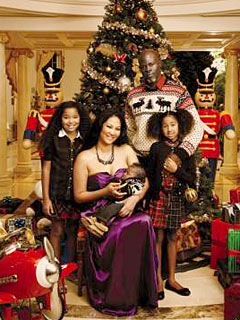 Kimora Lee Simmons Has Picture-Perfect Holidays
